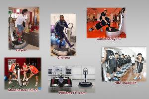 Power Plate edzés és az élcsapatok